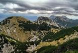 Pogled s Vaganskog vrha do svetog brda, Južni Velebit