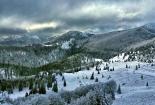 Pogled s planinarskog doma Zavižan, Sjeverni Velebit