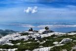 Chill na vrhu Visibaba, Srednji Velebit