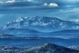 Pogled s otoka Zlarina na sustav crnopca na južnom Velebitu