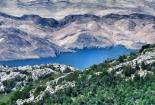 Dio otoka Paga i dio Srednjeg Velebita