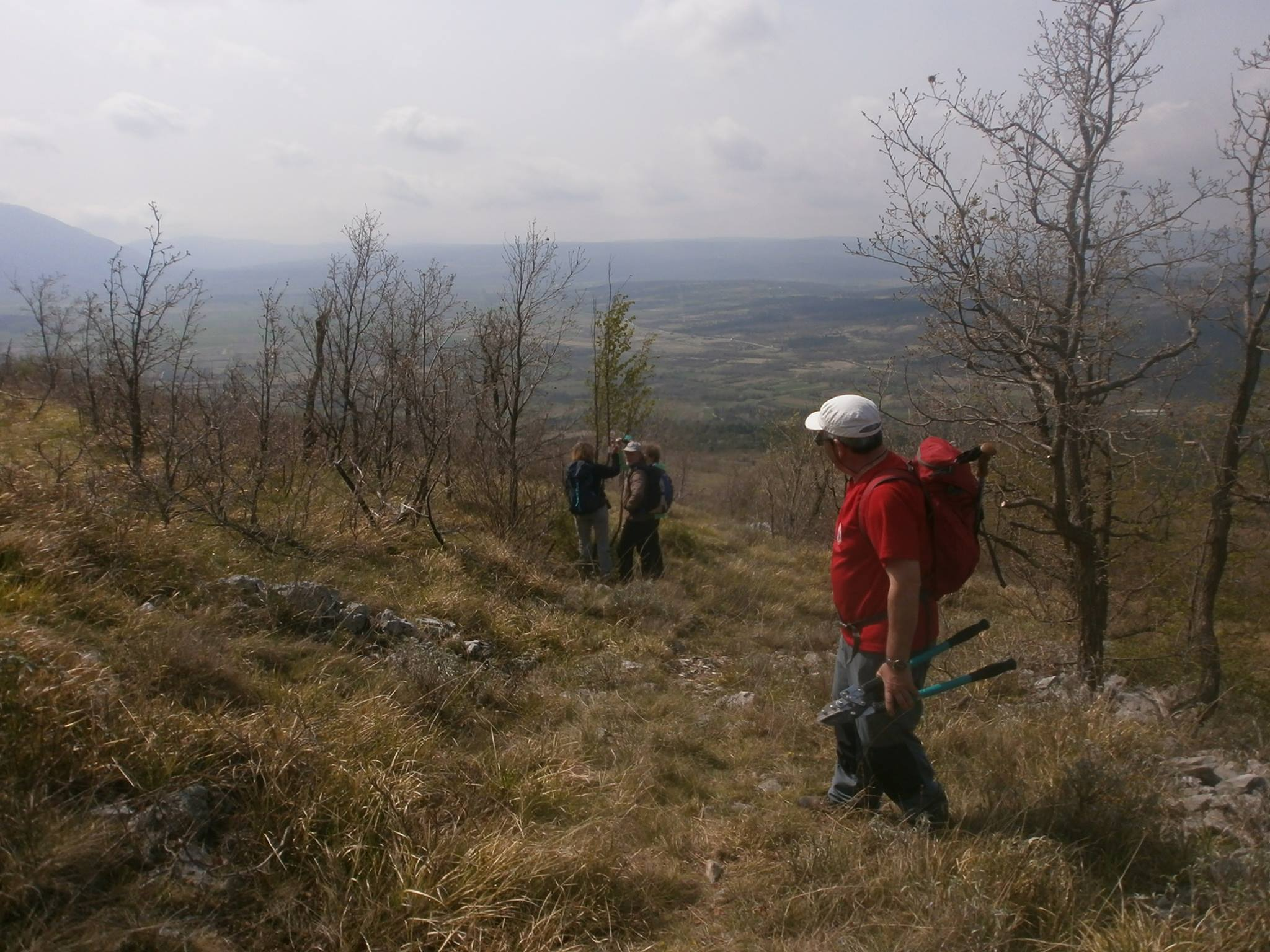 šušnjevica radna akcija markiranja i uređivanja planinarskih staza