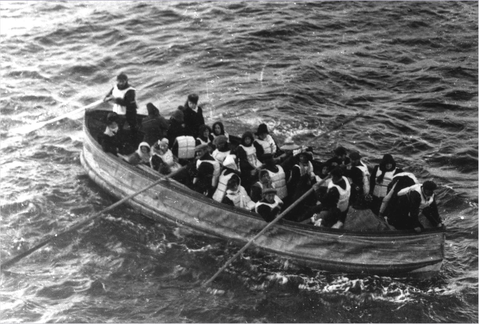 titanic čamac za spašavanje