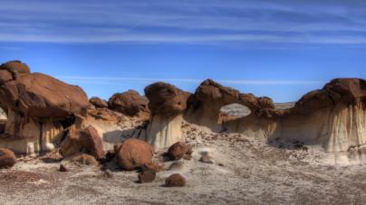 Bisti Wilderness nalazi se u New Mexico (SAD)