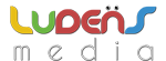 ludens media logo footer