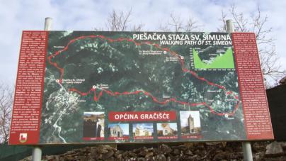 Gračišće i pješačka staza svetog Šimuna