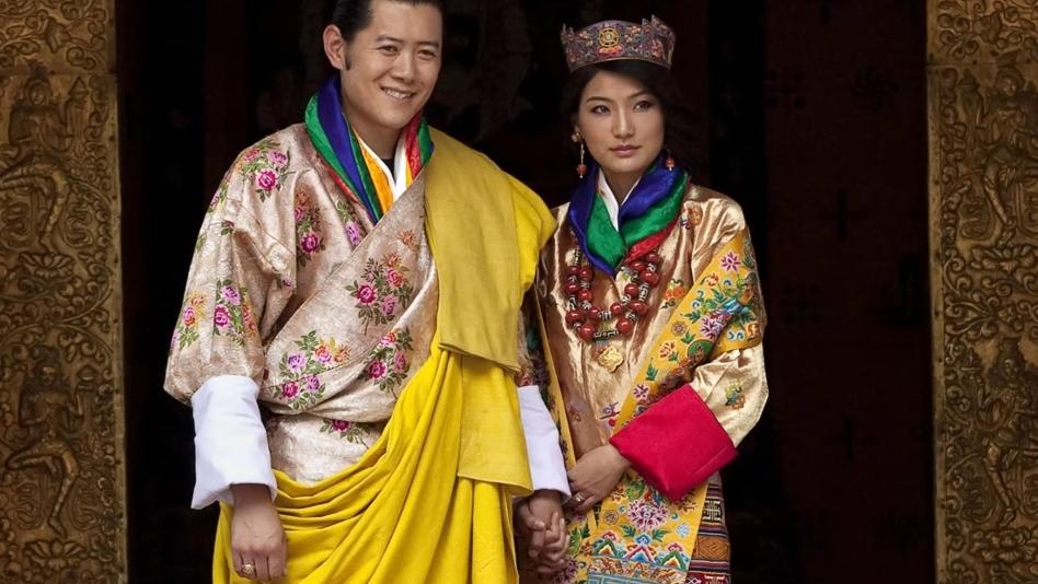 butanski kralj i kraljica