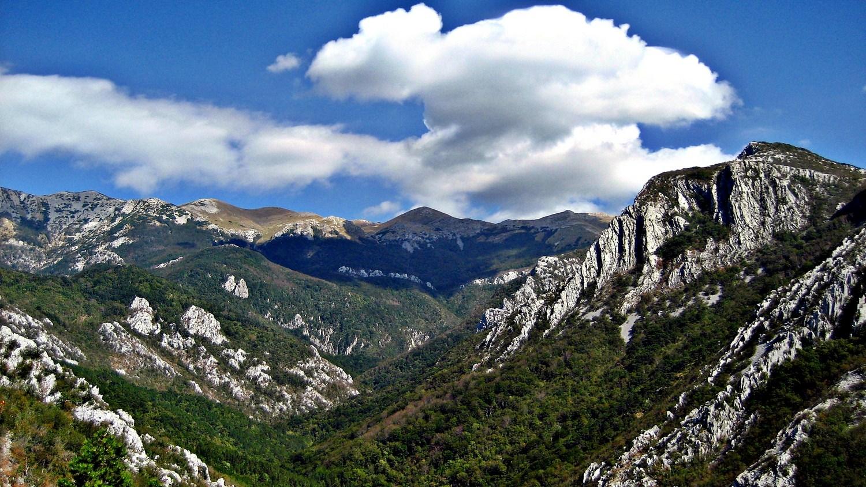 Mala Paklenica i vršni dio južnog Velebita