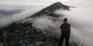 Južnom Učkom kroz oblake
