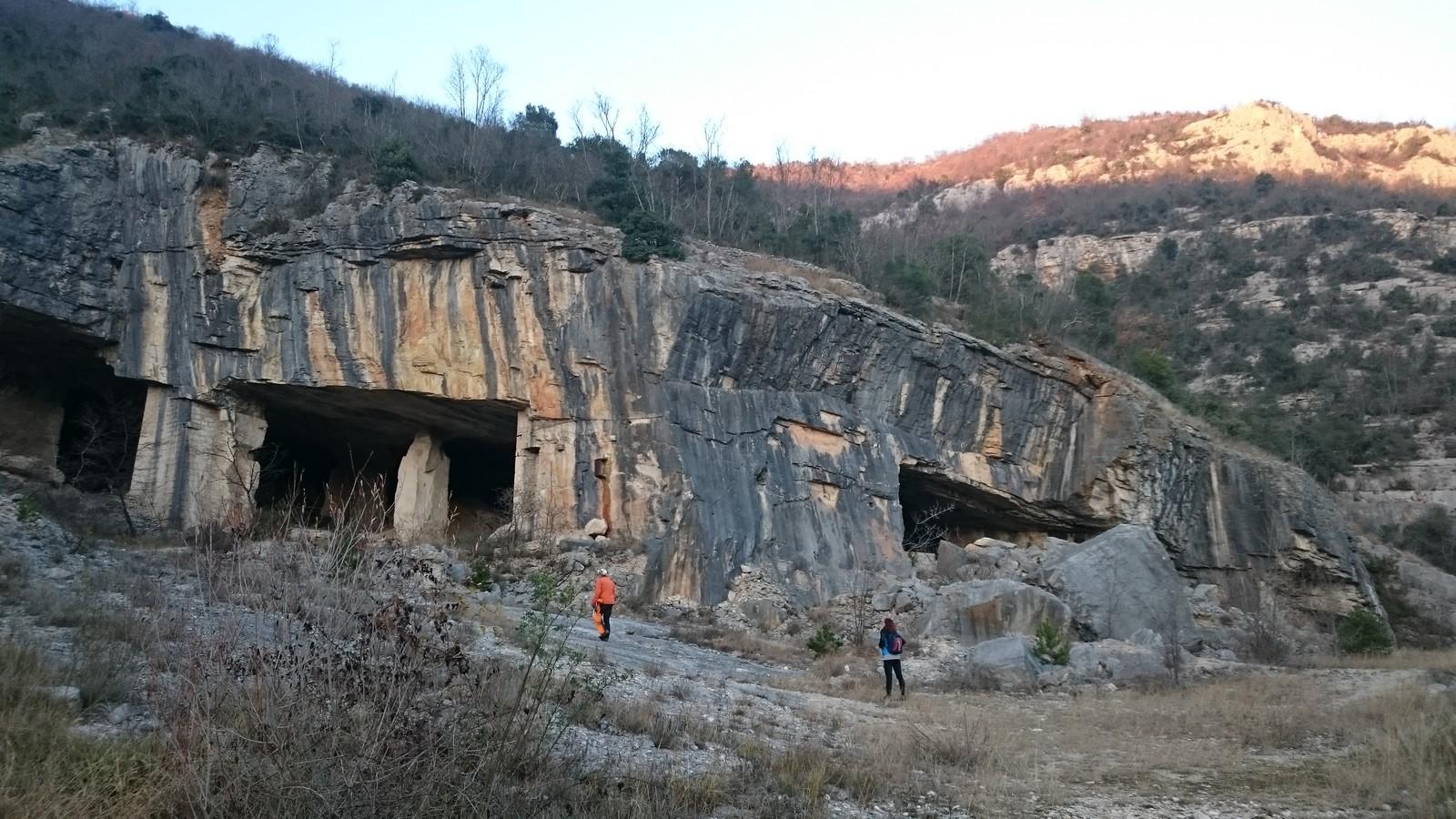 Kamenolomi iznad Istarskih Toplica