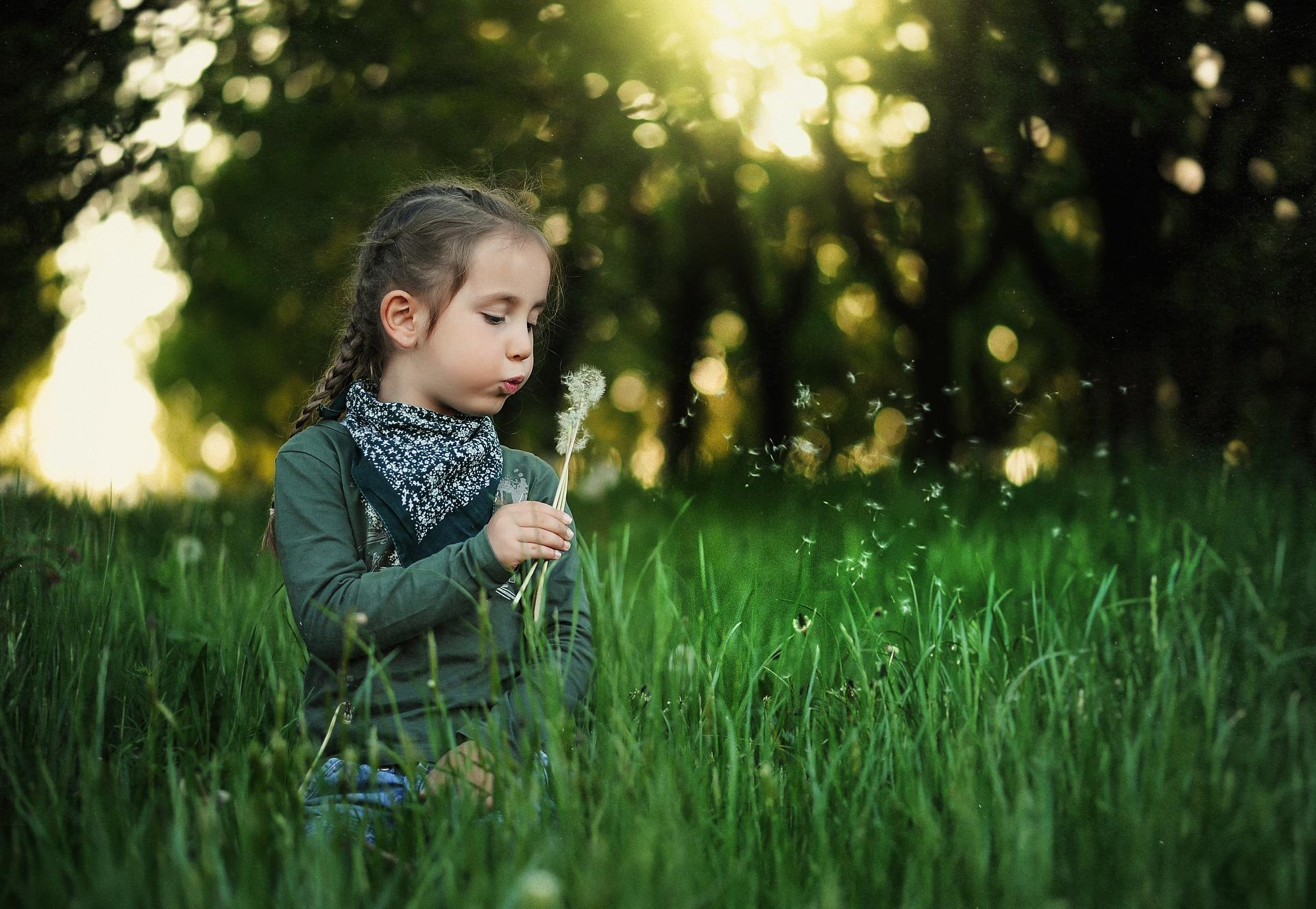 dijete u prirodi