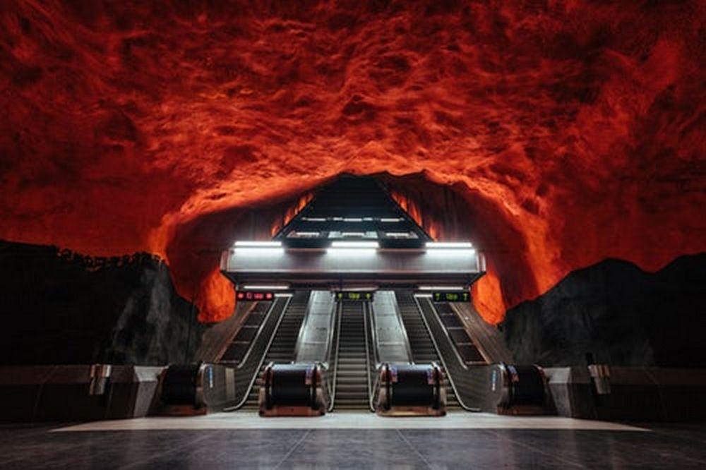 Podzemnna željeznica u Stockohlmu