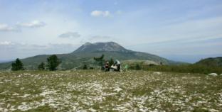 Interaktivna planinarska karta Hrvatske