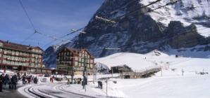 Vrh Europe i najviša željeznička postaja u Švicarskim Alpama