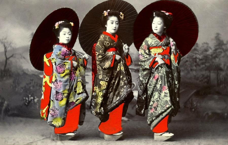 Gejse,tradicionalna odjeca